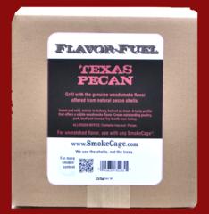 FlavorFuel® Pecan Nutshells - Bulk