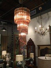 Mid century Italian chandelier