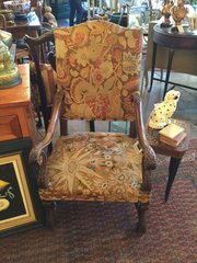 Pair of French tapestry chairs
