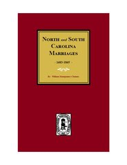 North and South Carolina Marriage Records, 1683-1865.
