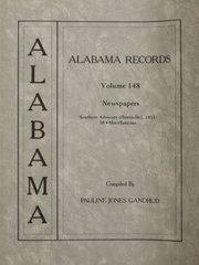 ALABAMA RECORDS - Vol. #148