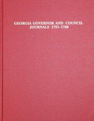 Georgia Governor & Council Journal, 1753-1760