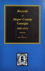 Jasper County, Georgia 1802-1922, Records of.