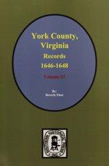 York County, Virginia 1646-1648, Records of.  ( Vol. #2 )