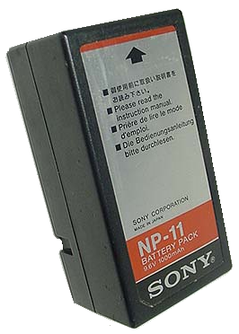 Sony NP 11 Battery Rebuild