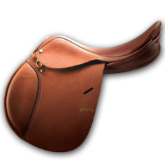 ERS PESSOA® A/O JUNIOR- COVERED LEATHER SADDLE