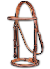ERS PESSOA® LEGACY PADDED FANCY STITCHED BRIDLE