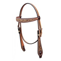 Browband Headstall Prairie Rose (Turn-Two Equine)