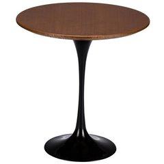 "Daisy 20"" Walnut Top Side Table"