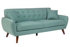 Daphne teal sofa