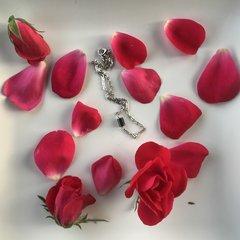 Dainty Hematite Boho Layering Necklace
