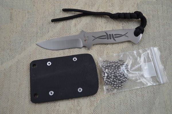 "Kevin Hoffman KLH ""The Barb"" Neck Knife (SOLD)"