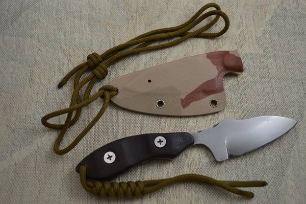 "G.H.K. ""Neck Knife"" Fixed Blade Personal Carry (SOLD)"