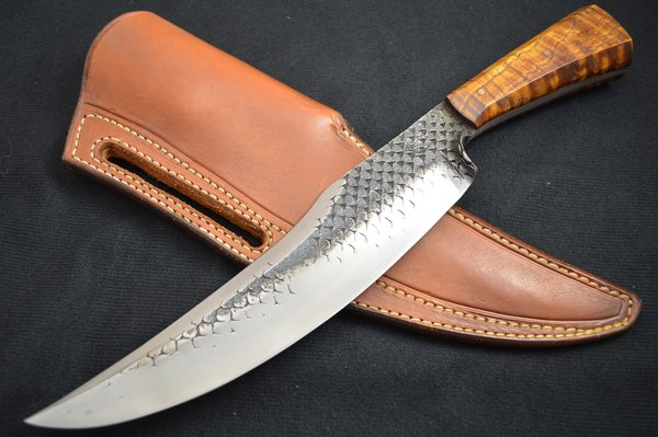 "Joe Keeslar, MS ""Ben Lilly Bear Killer"" Knife, 14.5"" OAL, 10"" Blade (SOLD)"