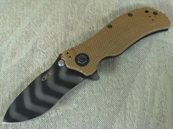 Zero Tolerance ZT 0302 Coyote Brown Assisted Opening Folding Knife (SOLD)