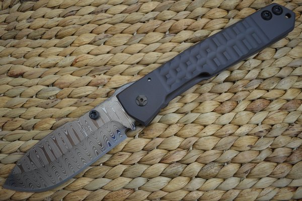 Crusader Forge FIFP EX Custom AEB-L Damascus Phantom Acid Finish, One Of A Kind! (SOLD)