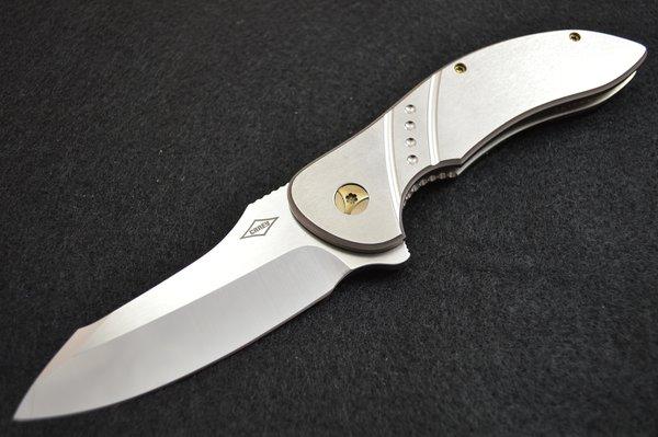 "Peter Carey ""TREMOR"" Frame-Lock Flipper Folding Knife"