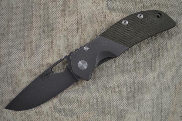 Jeremy Robertson Calavera Cutlery El Patron, Blade Show 2014 Lottery Knife (SOLD)