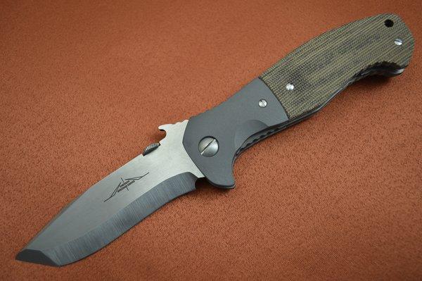 Ernie Emerson Custom CQC-15, Waved, Specwar Knives Logo (SOLD)