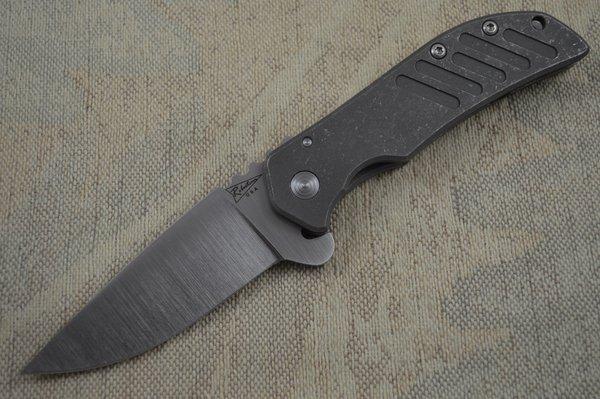 Jeremy Robertson Calavera Cutlery El Patron Flipper Satin Blade (SOLD)