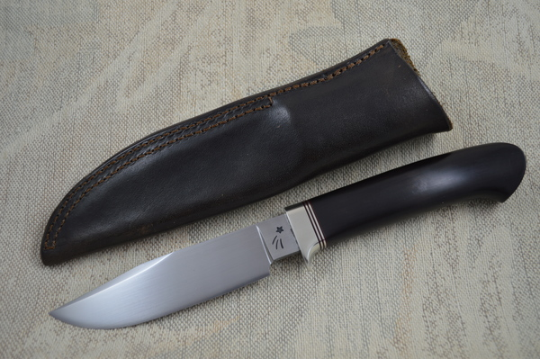 Jim Crowell, Master Smith Clip Point Hunting Knife (SOLD)