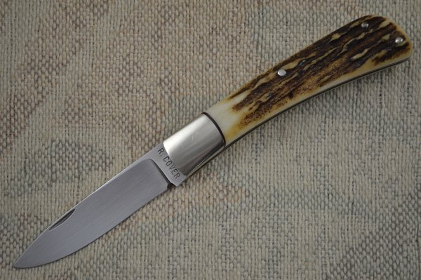 Ray Cover Slip-Joint Stag Handle Jack Knife Folding Knife (SOLD)
