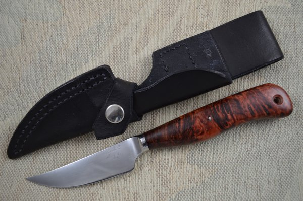 Ray Kirk, M.S. Raker Knives Bird and Trout Integral Fixed Blade (SOLD)