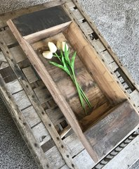 One of a Kind Wood Tray