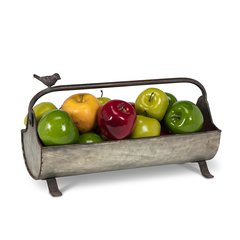 Farmhouse Trough Basket