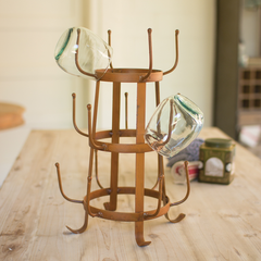 French Inspired Farmhouse Drying Rack