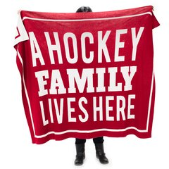 A Hockey Family Lives Here