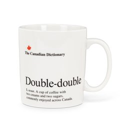Cdn Dictionary Mug - Double-Double