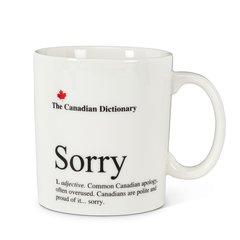 Cdn Dictionary Mug - Sorry