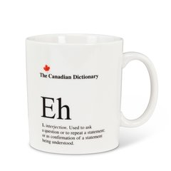 Cdn Dictionary Mug - Eh