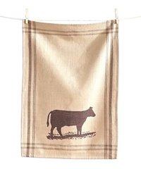 Farm Fresh Steer Dishtowel