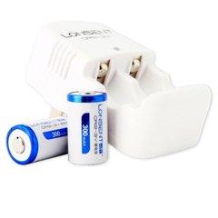 Lonsent - CR2-3V Li-Ion Batteries & Charger Set