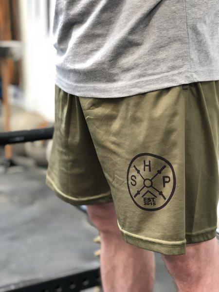 SHP Men's Basketball Shorts - OD Green