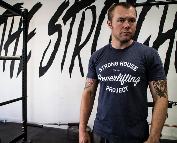 StrongHouse Powerlifting T-Shirt