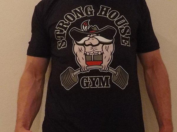Stronghouse Gym Deadlift T-shirt