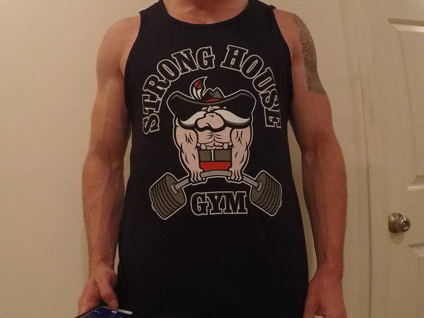 Stronghouse Gym Deadlift Tank Top