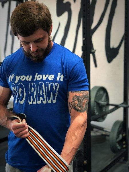 Go Raw T-Shirt - Blue