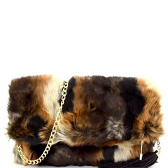 Fur Frenzy Clutch/Crossbody