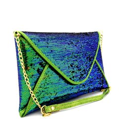 Green Sparkle Clutch/Crossbody