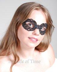 Lace Mask - Ash
