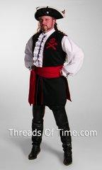Pirate Long Vest