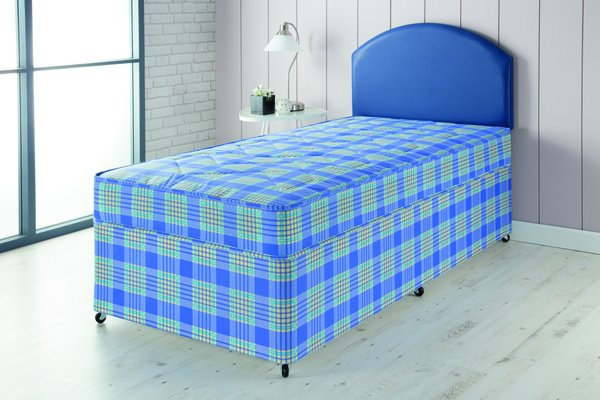 Airsprung windsor divan bed bedroom single double king for 2 6 divan with storage