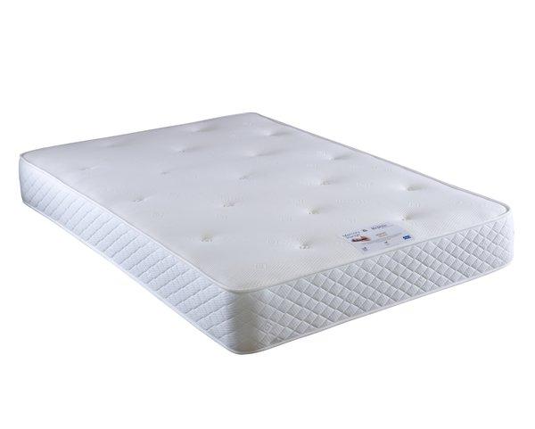 Vogue Beds Repose Memory Foam Deluxe 1000 Pocket Sprung Divan Set Kingfisher Furniture