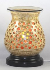 Pottery Wood Oil Burner