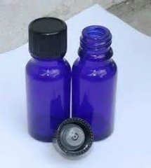 1/2 Oz Cobalt Blue Bottles
