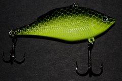 Reel Deal Rattle Trap 1/2oz - Chartruese / Blackback